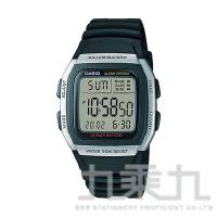 CASIO Digital手錶 W-96H 銀
