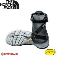 【The North Face 男 ULTRA TIDAL 輕便抓地三點式可調節織帶涼鞋《黑》】3RCX/運動涼鞋/輕量涼鞋