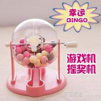 雙色球搖獎機彩票機手動搖號機選號器模擬機大樂透玩具抽獎轉盤球