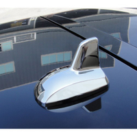IDFR ODE 汽車精品 BENZ E-W212樣式 鯊魚鰭造形天線-車頂無天線 可直接黏貼
