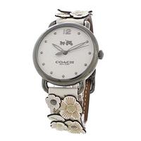 COACH【美國代購】女錶 經典雕花錶帶  - 14502746