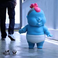 Jim dreams toy chunk unbox XL 瞌睡胖子 設計師玩具 chubbi 公仔