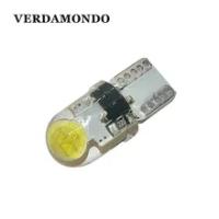 1Pcs T10 194 W5W รถ LED 168 COB ซิลิกาเจลหลอดไฟ108 501แผงใบอนุญาตโคมไฟสีขาว DC 12V ไฟสัญญาณ