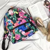 Superdry 極度乾燥 經典時尚 花卉圖案 手提雙肩兩用休閒後背包 輕便中型背包 英國正品現貨