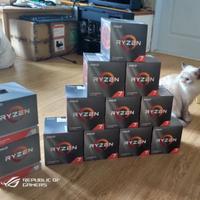 全新現貨AMD Wraith Prism RGB風扇, 未上機的R7-3700X 3800X R9-3900X原廠風扇