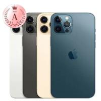 【Apple 蘋果】福利品 iPhone 12 Pro Max 256G 6.7吋手機(電池100 背面下方有一筆畫痕不影響使用 原保原盒)