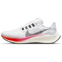 NIKE AIR ZOOM PEGASUS 38 GS 女鞋 大童 慢跑 氣墊 回彈 柔軟 白灰粉橘【運動世界】DJ5557-100