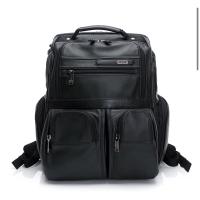 Tumi 電腦後背包 全真皮 美國購入保證正品