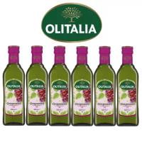 【Olitalia奧利塔】超值葡萄籽油禮盒組(500mlx6瓶)