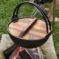 【May Shop】日式小火鍋 鑄鐵鍋 煲仔鍋 火鍋 關東煮鍋 吊鍋(不含鐵盤)