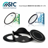 【STC】Hood-Adapter 轉接環 快拆 遮光罩組+UV +CPL(For SONY RX100 M1-5)