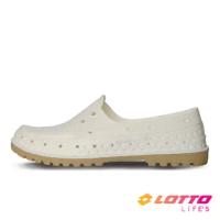 【LOTTO】女 經典帆船洞洞鞋(白-LT1AWS3569)