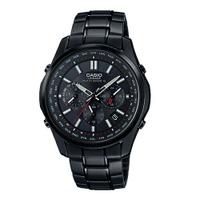 刷卡滿3千回饋5%點數|六局電波錶 CASIO G-SHOCK/黑武士電波計時太陽能腕錶/LIW-M610DB-1AJF