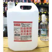 【油購網】⭐️防疫 酒精🔥 全久榮 75% ⭕️ 乙醇 ❌ 非異丙醇 臺灣 SGS認證 💯4L大容量❗️國家隊