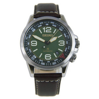 SEIKO   นาฬิกาข้อมือควอทซ์สายหนัง Prospex Automatic รุ่น SRPA77K1