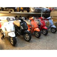 🔥現貨促銷🔥兒童電動車 重機車 Vespa 偉士牌  🔱完美老爸童車精品店