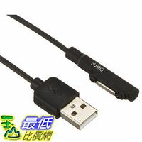 [東京直購] Deff 磁吸式充電線 DCA-SXLED100BK 1M長 相容:SONY Xperia Z1/Z2/Z3