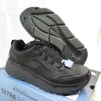 Skechers MAX CUSHIONING 男款 皮革 慢跑鞋 運動鞋 54431BKCC 黑【iSport愛運動】