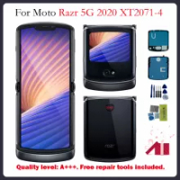 For Motorola Moto RAZR 5G For Motorola Moto Blade Razr 2020 XT2071-4 Main Screen LCD Display Assembly Free Tools