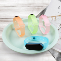 小米手環 5 6 腕帶 手環 小米5 充電線 小米手環5 小米手環6  保護貼 保護膜錶帶 替換腕帶 探索 透明 矽胶