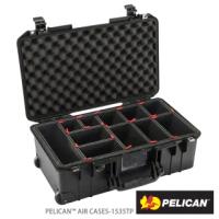 【PELICAN】1535TP Air 輪座拉桿氣密箱-含TrekPak隔板 黑(公司貨)