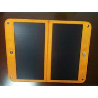 熱銷新款熱銷SUNPOWER太陽能折疊包手機充電器14W雙U帶支架