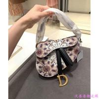 專櫃 正品 【Dior】 迪奧 新款 萬花筒 馬鞍包 手提包