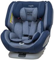 【領券滿額折300】*送頂棚*保固5年 法國 Nania x Migo 納歐聯名360度旋轉0-12歲 Isofix 汽車安全座椅 藍色【紫貝殼】