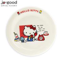 金正陶器 HELLO KITTY輕瓷小餐盤