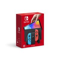 秋葉電玩 任天堂  NS Switch OLED 紅藍 主機 組合禮包 台灣公司貨 原廠保固一年 10/8上市