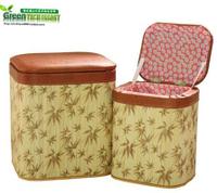 收納椅多功能可坐收納凳長方形藤編椅子兒童玩具盒儲物換鞋凳箱可坐置物