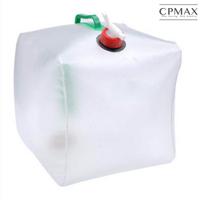 CPMAX 手提式20公升摺疊儲水桶 可攜帶摺疊蓄水桶 家庭儲備用水袋 戶外露營折疊水桶 透明塑料折疊水袋 H221