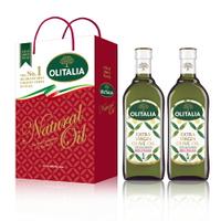 (老爹特惠)【奧利塔olitalia】特級初榨橄欖油1000ml *2瓶(A220006x2)