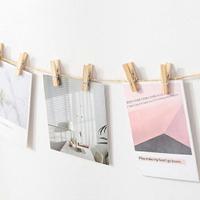 PS Mall【J2104】夾子 (單支)木夾 原木夾 相片夾 名片夾 裝飾夾 DIY