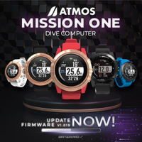 【Water Pro】{ATMOS} -MISSION ONE DIVE COMPUTER 潛水電腦錶