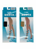 健妮 醫療彈性褲襪 靜脈曲張襪 200Den (一雙入-膚色.黑色.M.L.XL) 037987《全月刷卡累積滿$3000賺5%回饋》