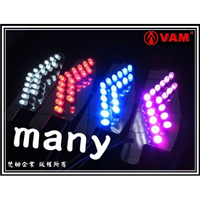 ξ梵姆ξ KOSO 超高亮度 箭頭款式 LED方向燈 後方向燈 (Many, 魅力, Many100, Many110