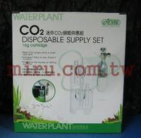 【西高地水族坊】ISTA伊士達迷你CO2鋼瓶供應組-16g