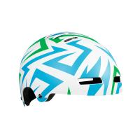 【LAZER】STREET JR 自行車兒童用安全帽-藍綠閃電(52-56cm)