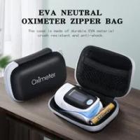 1Pcs EVA Neutral Oximeter กระเป๋าซิปผู้ถือ Oximeter ชุดป้องกันกระเป๋าเดินทางชุดสำหรับ Finger Pulse Oximeter