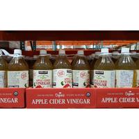 【好市多代購】Kirkland Signature 科克蘭 有機蘋果醋 單瓶販售 果醋 飲料 保健 健康 好市多 好事多