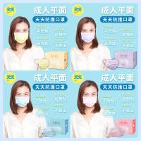 《 天天 》HEPA 成人平面醫療口罩 藍色 黃色 紫色 台灣製 雙鋼印 康匠 盒裝 50入 天天口罩 賣場還有中衛