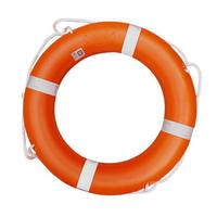 救生圈 救生圈 專業 船用加厚塑料救生圈新國標實心2.5kg游泳圈 【雙十一購物狂歡節 雙十一驚爆價 雙11好品推薦】