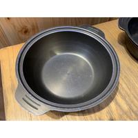 小火鍋湯鍋 鍋具 砂鍋 個人鍋 鑄鐵鍋 餐飲設備 廚房鍋具 A4445【晶選二手傢俱】