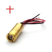 Đầu Laser 650nm 9 Mm 3V 50 MW Laser Đeo Chéo Diode Module Đồng Đỏ Đầu