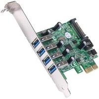 【伽利略】PCI-E USB 3.0 4 Port 擴充卡Renesas-NEC(PTU304N)