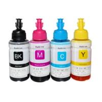 4PK Dye Ink For Epson L120 L132 L222 L310 L364 L380 L382 L486 L566 L800 L805 L1300 ET-2650 Printer T664 Refill Dye Ink For Epson