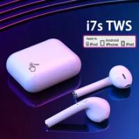 I7s Tws หูฟังไร้สายบลูทูธ5.0หูฟังหูฟังกีฬาหูฟังพร้อมกล่องชาร์จ Mic หูฟังสำหรับสมาร์ทโฟน