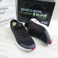 Skechers GO RUN HYPER BURST 男款 慢跑鞋 220170BKRD 黑【iSport】