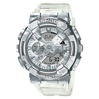 【CASIO】G-SHOCK 鍛造切割全金屬外殼 防磁 雙顯運動錶 GM-110SCM-1A 冰酷迷彩 原廠公司貨